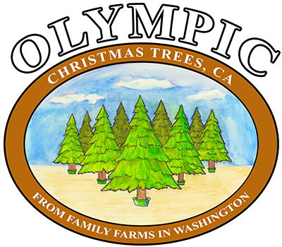 Olympic Christmas Trees in Rancho Cucamonga - From Family Farms in Washington